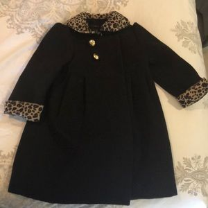 Tahari leopard coat with matching dress